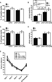 lithium administration to preadolescent rats causes long lasting