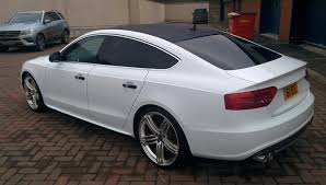 audi a5 roof see things in black and white