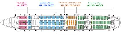 seat map airlines 777 300er jal aircraft collection