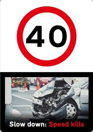 speed limit signs should get packet style warnings with
