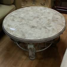 Grey Wood Coffee Table Admirable Coffee Table With Grey Marble Top And Wood Frame With