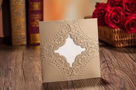 Customized Invitation Cards Free New Wedding Invitations Gold Wedding Invitation Card Hollow