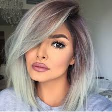 tame gray hair that sticks up 86 best purple lowlights for grey hair images on pinterest