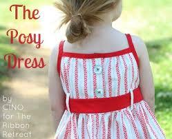 the posy dress tutorial the ribbon retreat blog