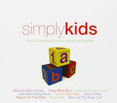 simply kids 4cd u0027s of nursery rhymes songs and stories amazon co