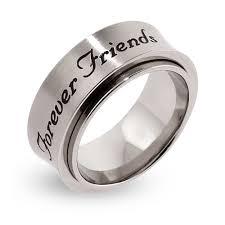 mens spinner rings friends engraved spinner ring s addiction