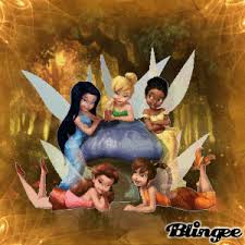 tinkerbell fairy friends picture 124104528 blingee