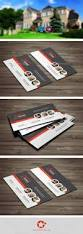 real estate business card templates by grafilker02 graphicriver
