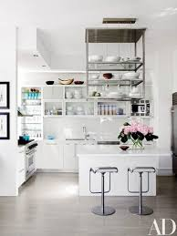 Fair 60 Cyan Kitchen Interior by Julianna Margulies U0027s Light Filled New York City Apartment