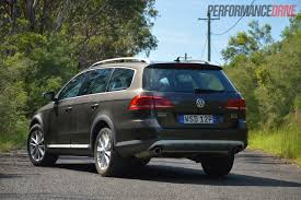 2013 volkswagen passat alltrack tdi review performancedrive