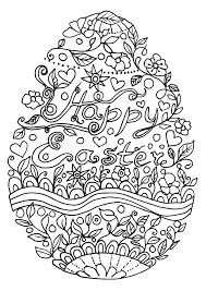 free easter coloring easily create hand easter easter