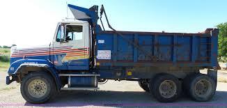 freightliner dump truck 1987 freightliner flc11264 dump truck item k5275 sold a