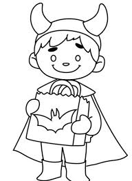 costume halloween coloring pages costume halloween coloring