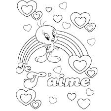 coloriage coeur amour le coeur coloriage coeur amoureux