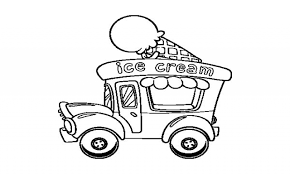 the ice cream sandwich num noms ice cream truck coloring page