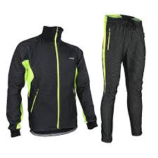 waterproof softshell cycling jacket thermal cycling jacket sets winter warm bicycle clothes windproof