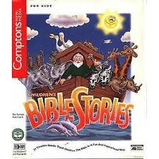 children s bible stories ages 3 8 pc cd rom for win mac new in