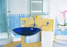 yellow tile bathroom paint colors home design