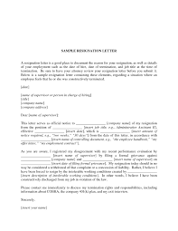 resignation letter simple of template formals inside 17 appealing