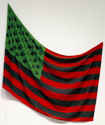 American Flag Picture David Hammons African American Flag 1990 Moma