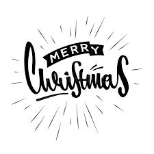merry christmas modern merry christmas hand drawn design modern calligraphy and brush