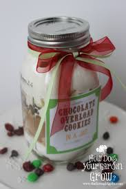 cookies in a jar a perfect gift idea www thefarmgirlgabs com