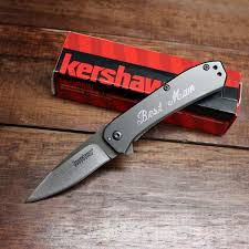 personalized knives groomsmen kershaw knives the best gifts