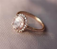 natural engagement rings images Morganite ring pink 6 8mm fancy morganite and full cut natural jpg