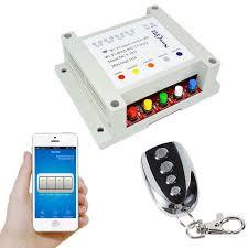 wifi controlled light switch 4ch 12v smart wifi switch remote control light switches 5 28v timer