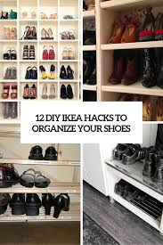 12 awesome diy ikea hacks for shoes organization shelterness