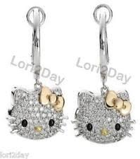 hello earrings hello dangle earrings ebay
