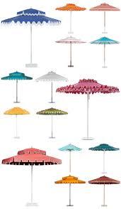 Tiki Patio Umbrella Poolside A La Slim Aarons Stylish Patio Umbrellas Palm