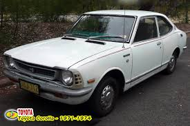 toyota corolla 1 8 1975 technical specifications of cars