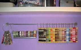 ribbon holders crafty storage ribbon storage
