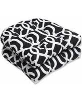 boom holiday sales on black and white patio cushions