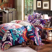 Trippy Comforters Create Your Adventure While Sleep With Boho Bedding Atzine Com