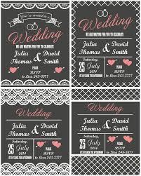 modern wedding invitation wedding invitation templates vector lovely flat modern wedding