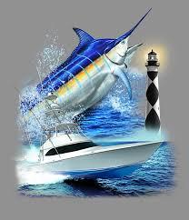 blue marlin boat design by obxrussell on deviantart
