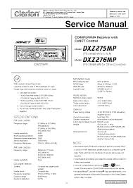 clarion xmd3 stereo wiring diagram clarion wiring diagrams