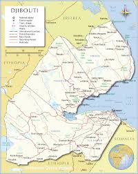 Political Map Africa by Political Map Of Djibouti 1200 Pixel Nations Online Project