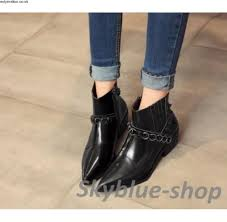 womens boots europe europe style womens pointed toe patent leather side zipper