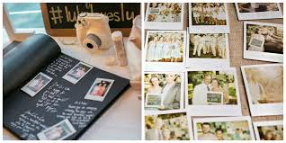 polaroid guest book album five photo booth alternatives
