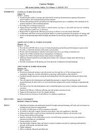 clinical manager resume clinical manager resume sles velvet