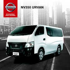 nissan work van nissan formally launches nv350 urvan w brochure philippine