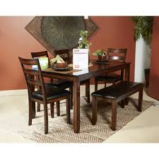 ashley kitchen table set design by ashley dining room 6 piece dining table set d385 325