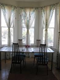 Kitchen Bay Window Curtain Ideas by Lamberquins Window Treatments Pinterest