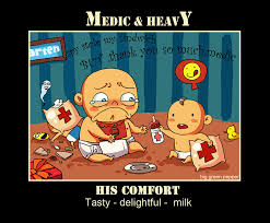 Funny Tf2 Memes - tf2 medic and heavy by biggreenpepper on deviantart