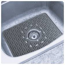 Kitchen Sink Mats With Drain Hole Extra Large Sink Protector Kitchen