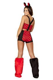 Lady Bug Halloween Costume 3 Pc Ladybug Costume Amiclubwear Costume Store