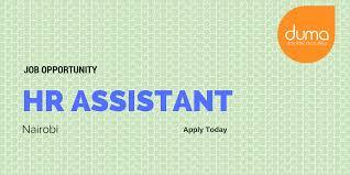Recruiting Assistant Job Vacancy Human Resource Assistant Duma Works
